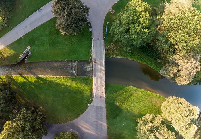 Olympiapark: Nymphenburg-Biedersteiner Kanal München