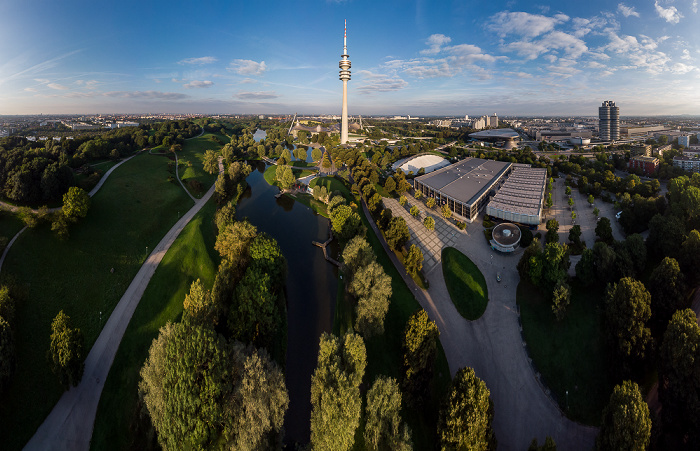 Olympiapark: Willie-Daume-Platz München