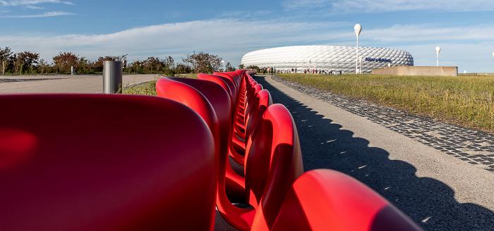 Parkhaus der Allianz Arena / Esplanade, Allianz Arena München