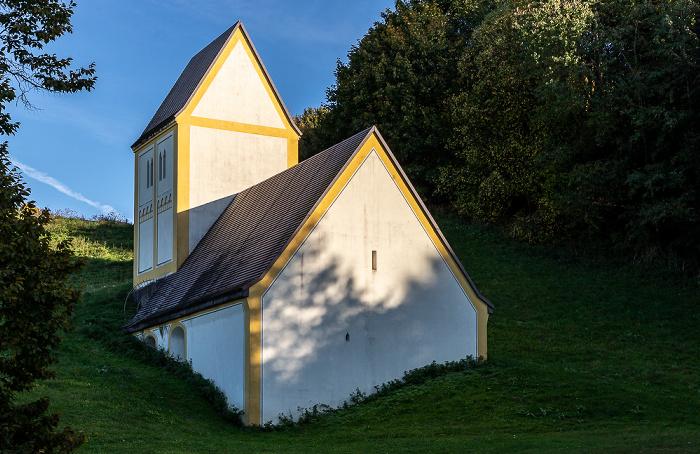Fröttmaninger Berg: Kunstwerk Versunkenes Dorf München