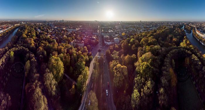 München Luftbild aerial photo
