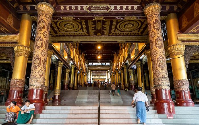 Yangon Shwedagon-Pagode