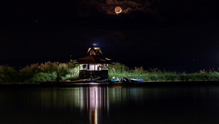 Nyaung Shwe Inle Resort: Inle-See - Aufgehender Mond