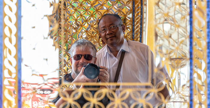 Mandalay Hill: Kyaw und Jürgen