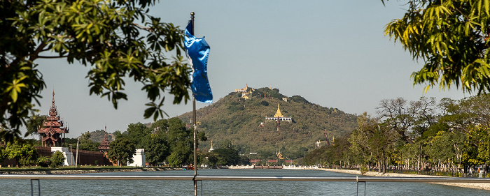 Mandalay Hill Mandalay Palace