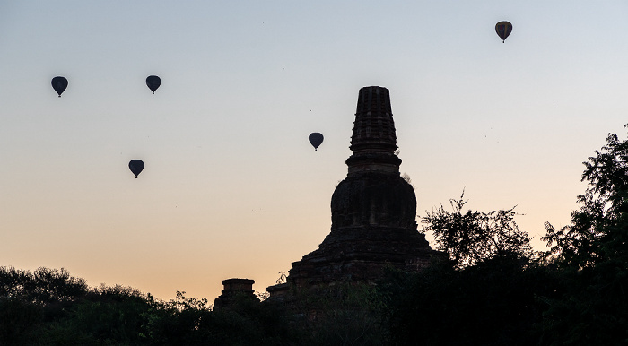 Bagan Heißluftballone, Pahto Tha Mya Pagode