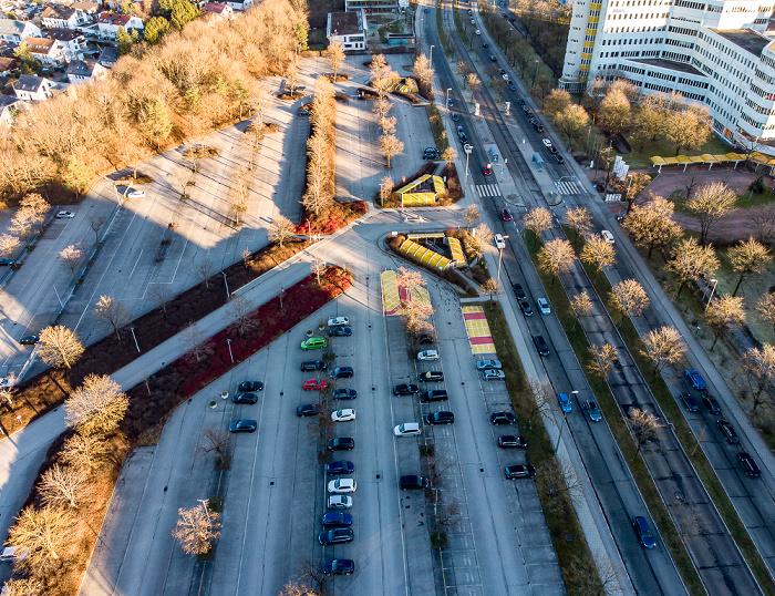 Neuperlach: Siemens München-Neuperlach Parkplatz Nord München