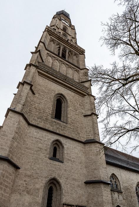 Kirchenplatz: Stadtpfarrkirche St. Stephan Braunau am Inn