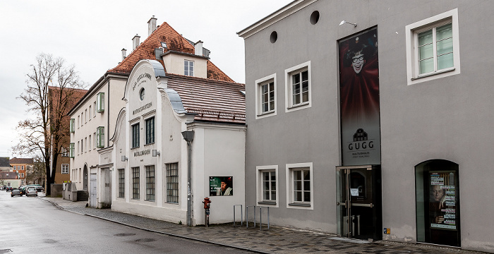 Palmstraße: Kulturhaus Gugg Braunau am Inn