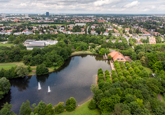 Neuperlach: Ostpark mit Ostpark-See München