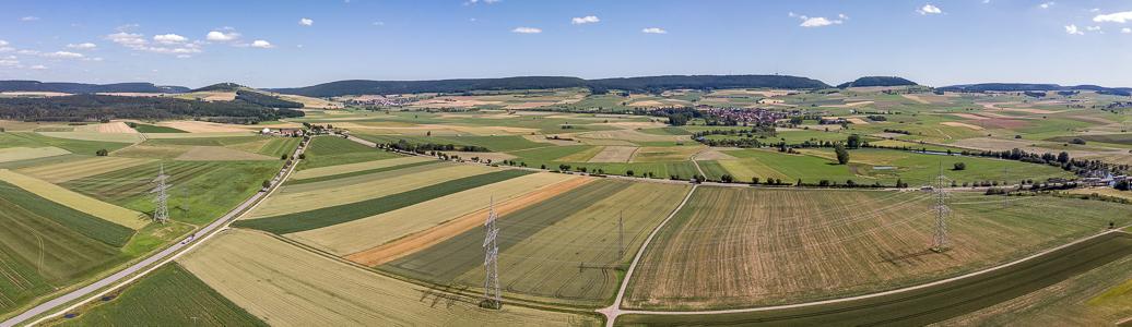 Pfohren Luftbild aerial photo