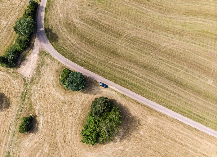 Länge Luftbild aerial photo