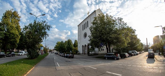 Aschheimer Straße / Piusstraße: St. Pius München