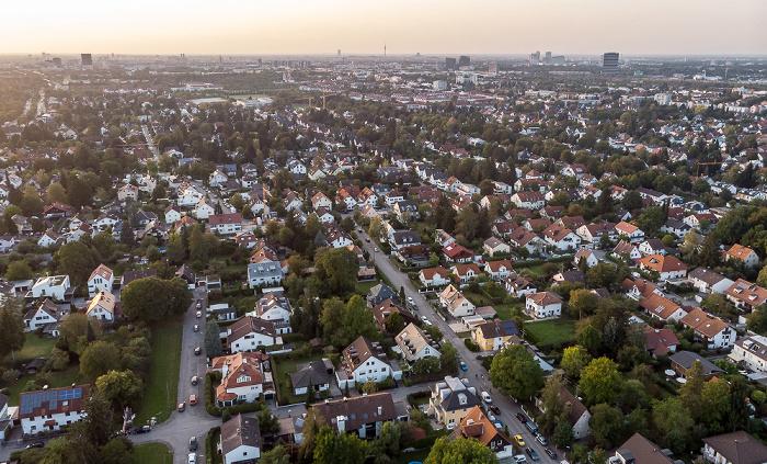 Trudering (unten), Berg am Laim (oben) München