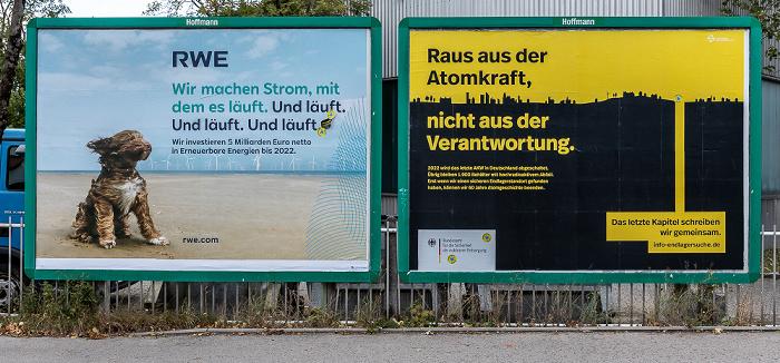 Manchesterplatz / Emplstraße: Werbetafeln München