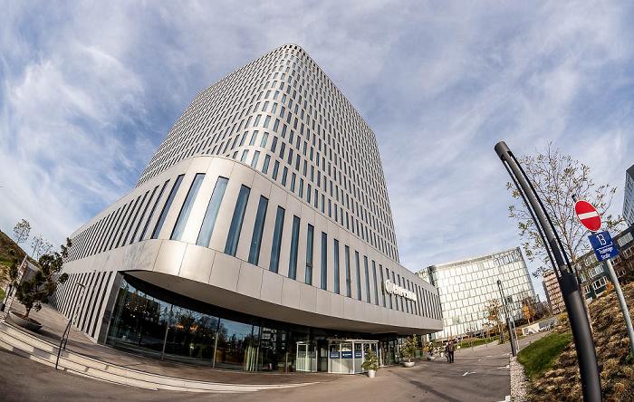 Bogenhausen: Bavaria Towers - White Tower (Hyperion Hotel) München