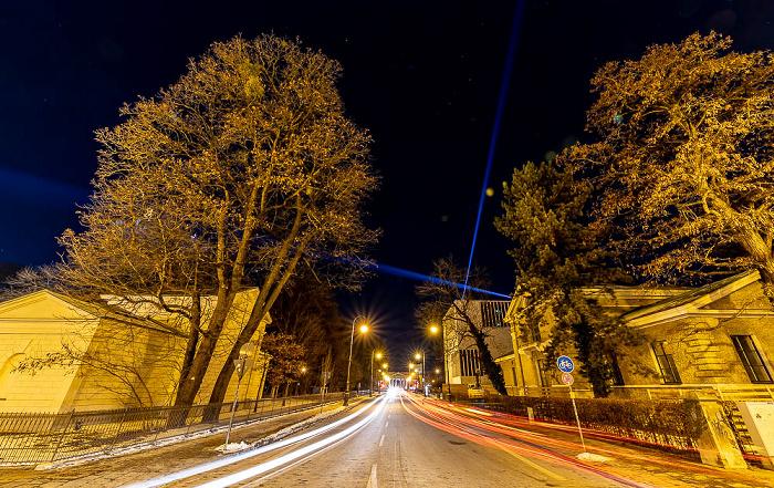Lichtaktion Kunstareal: Brienner Straße München