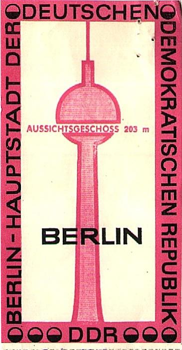 Fernsehturm Berlin 1978