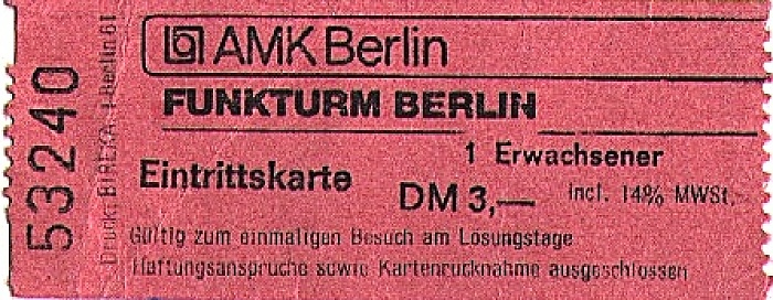Funkturm Berlin 1985