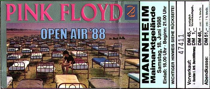 Mannheim Maimarktgelände: Pink Floyd