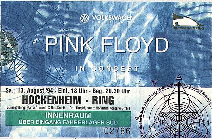 Hockenheimring: Pink Floyd