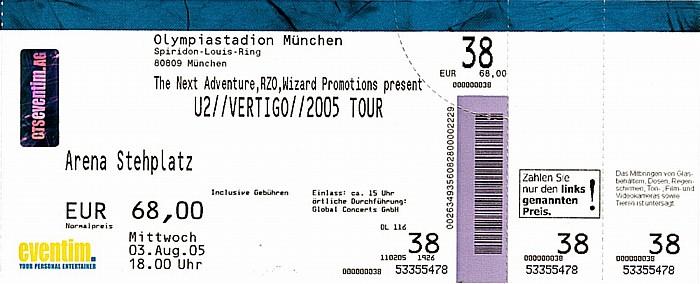 München Olympiastadion: U2