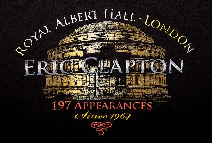 Royal Albert Hall: Eric Clapton London Tour-T-Shirt