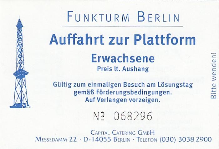 Funkturm Berlin 2013
